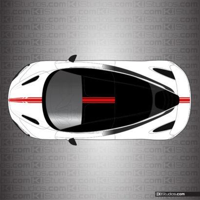 McLaren 720S Stripe Kit 005 by KI Studios