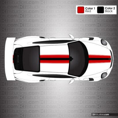 Porsche 991 GT3 RS KI Studios Stripe 014