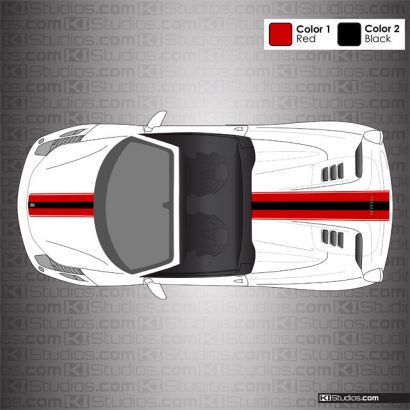 Ferrari 458 Spider Stripe Kit 006
