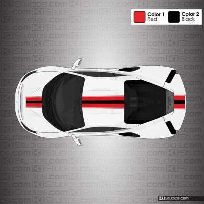 Ferrari 488 Pista Stripe Kit 001