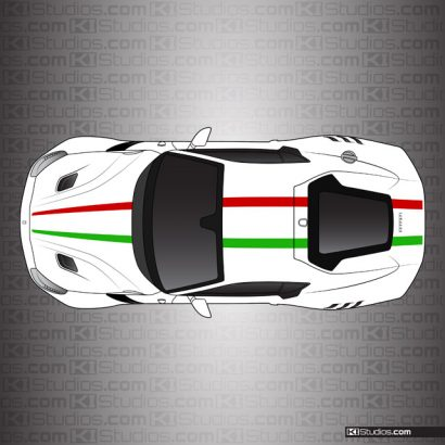 Ferrari F12 Berlinetta KI Studios Stripe Kit 003