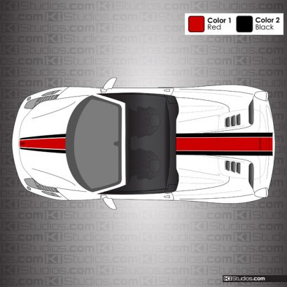 Ferrari 458 Spider Stripe Kit 007