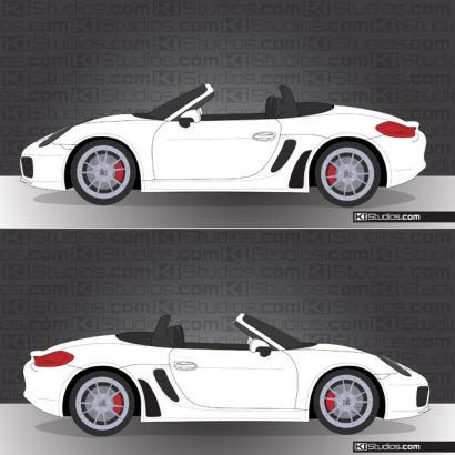 Porsche 981 Boxster Stone Guards