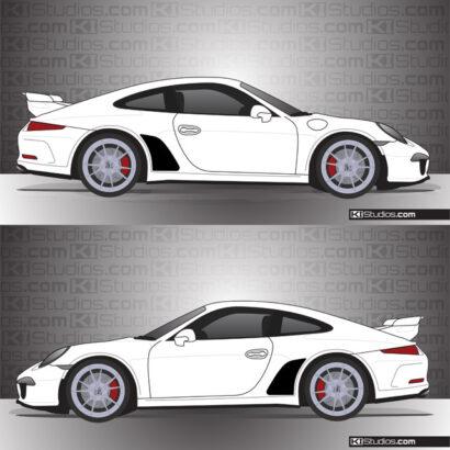 Porsche 991 GT3 Stone Guards