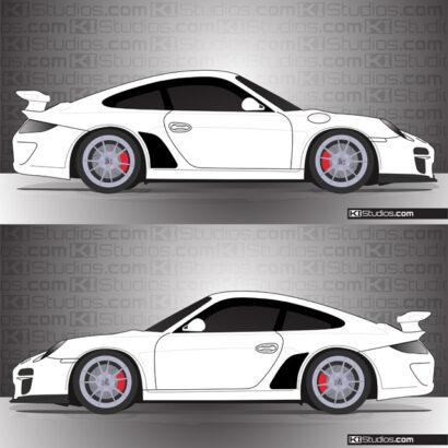 Porsche 997 GT3 Stone Guards