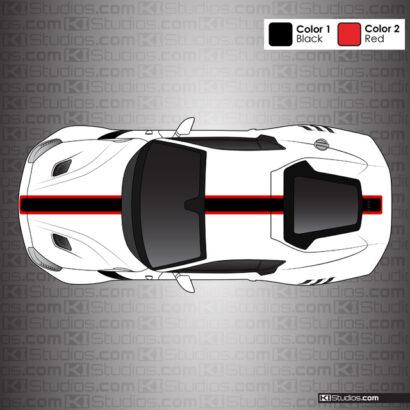 Ferrari F12 Berlinetta TDF Top Stripe Kit 006