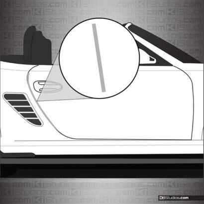 Porsche 987 Boxster Door Edge Guards