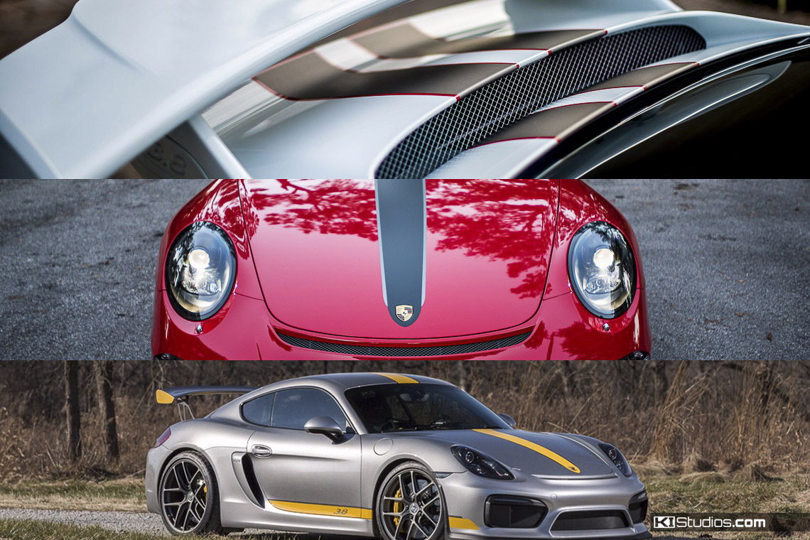 DIY Vinyl Porsche Projects