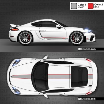 718 GT4 Stripe kit 005