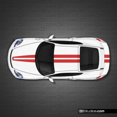 Porsche 718 GT4 Racing Stripes