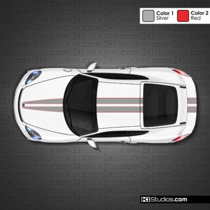 Porsche 718 GT4 Stripe 007