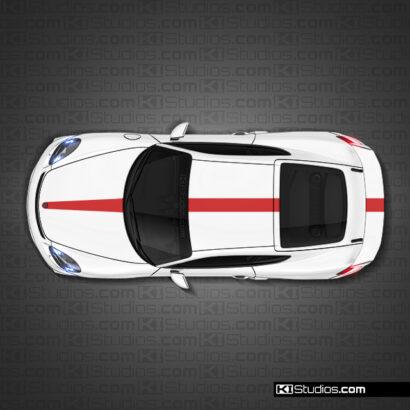 Porsche 718 GT4 Stripe 008