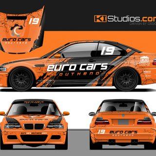 BMW M3 Racing Livery Design