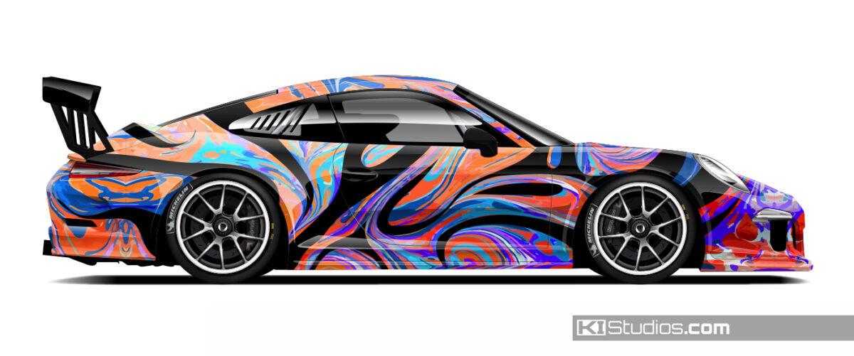 Porsche GT3 Cup Livery Design by KI Studios