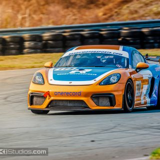 Porsche GT4 Clubsport MR Livery Wrap