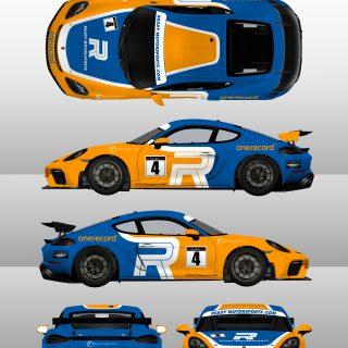 718 GT5 Clubsport MR Livery Design