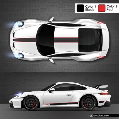 Porsche 992 GT3 Stripe kit 001